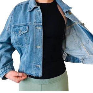 Mono B Denim Cropped Jacket Multiple Sizes NWT